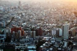 Miniaturansicht: Blick auf die Metropole Tokyo, Japan
