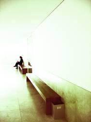 AUF DIE LANGE BANK SCHIEBEN | warten style grafisch clean