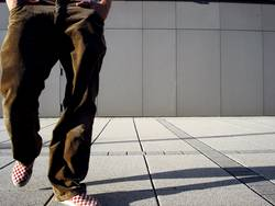 TASCHENBILLARD   gehen person beine laufen stadt mode person