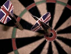BULLSEYE | dart darts pfeile sport sports werfen unionjack