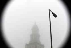 fog around the clock