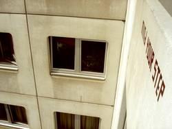 HOCH | architektur hochhaus gebäude typo schriftzug wohnheim