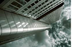 Frankfurt Bank Hochhaus Skyline Reichtum Bankenkrise