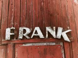 REICHFURT - Buchstaben Typografie Verfall Holz