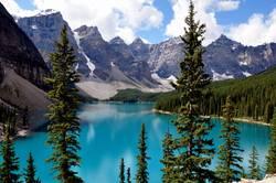 Moraine Lake, Rocky Mountains
