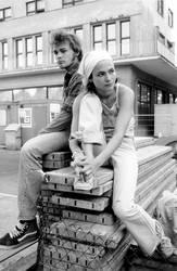 Liz und Richard in der Stadt
