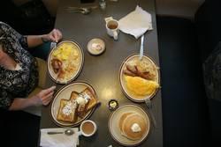 breakfast in Amerika