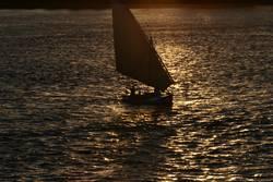 Abend am Nil