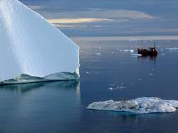 Allein im Eis
