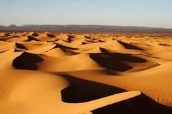 abends in der Sahara