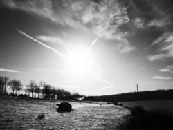 Wintersonne in LE