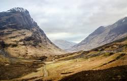 Glen Coe, schottische Highlands