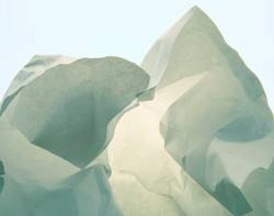 Eisberg, kurz vor Grönland