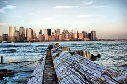 Skyline of New York City Downtown