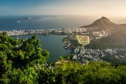 Aussicht über Rio de Janeiro