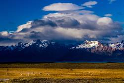 the alps in Patagonia