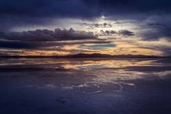 Reflections on the salt flats