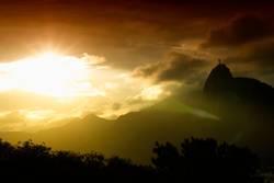 Sonnenuntergang in Rio de Janeiro - Sunset in Rio de Janeiro