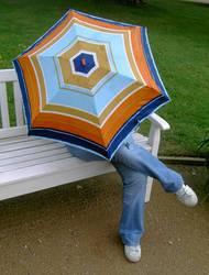 """""""Wer unter dem Schirm..."""