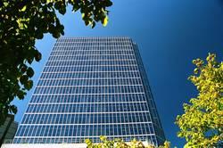 Glashaus im Rahmen