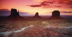 Abendrot trotz der Wolke, die uns den Sonnenuntergang stahl