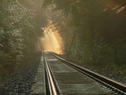 Licht am Ende des Gleises