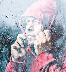 Man in Red Hood