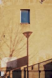 Haus mit Lampe