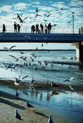 Kolobrzeg, Seebrücke