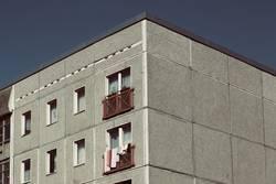 Wohnung im Grau