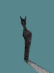 Der Schatten der Katze