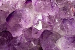 dreamy purple amethyst crystal background