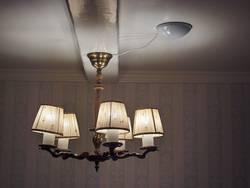 Lampe im Licht