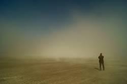 Ich steh im Nebel und warte auf Dich....