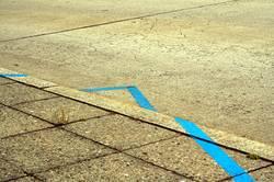 Blaue Linie