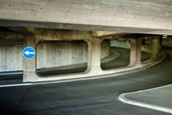 Parkhaus / Ausfahrt