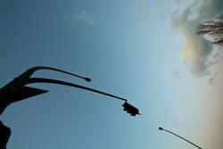 Ampel, Laterne, Baum, Himmel