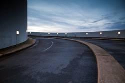 Parkhauseinfahrt