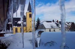 Schnee- und Eisgebilde