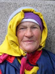 Russian Bag Lady 3