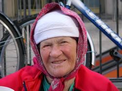 Russian Bag Lady 1