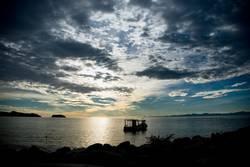 Sonnenaufgang im Abel Tasman Nationalpark