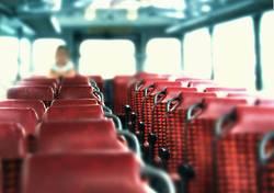 Platz im Bus