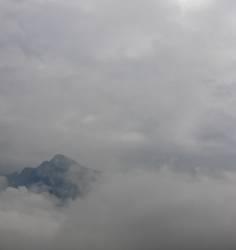 trübes alpinistenfeld