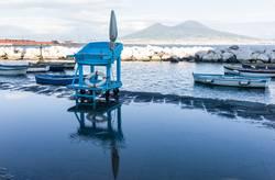 Boote und Vesuv