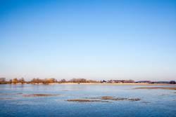 das frühjahrshochwasser.
