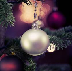 Geschmückten Weihnachtsbaum
