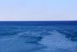 Seascape with calm sea and sky