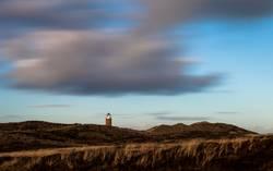 Wolkenspiel überm Leuchtturm