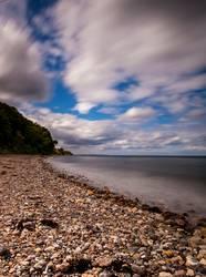 Wolkenspiel am Strand